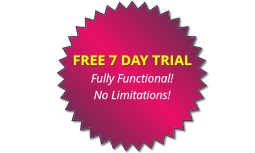 Full 7 Day Trial Available